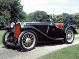 Photos of MG PB Midget 1935–36