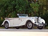 MG SA Tourer 1936–39 photos