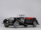 MG SA Tourer by Charlesworth 1938 images