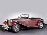 Pictures of MG TD (MkII) 1951–53