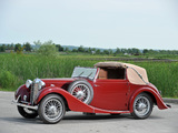MG VA Drophead Coupe by Tickford 1939 wallpapers