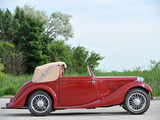Pictures of MG VA Drophead Coupe by Tickford 1939