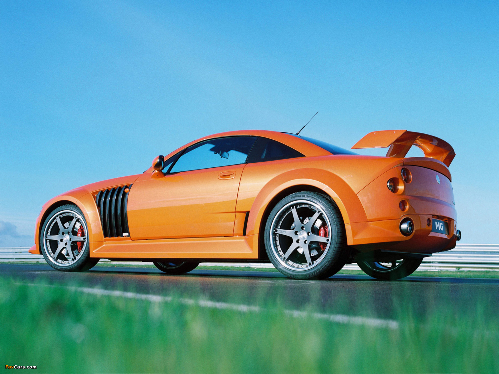 MG XPower SV-R 2004–05 wallpapers (1600 x 1200)