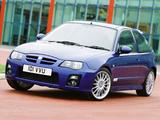 Images of MG ZR 160 3-door 2004–05