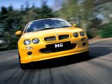 MG ZR 160 3-door 2001–04 images