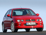 MG ZR 160 5-door EU-spec 2001–04 images