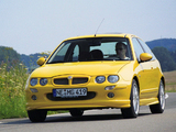 MG ZR 160 3-door EU-spec 2001–04 photos