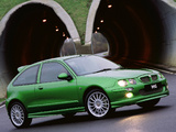 MG ZR 160 3-door 2001–04 photos