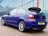MG ZR 160 3-door 2004–05 photos