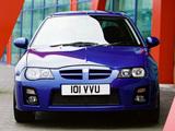 MG ZR 160 3-door 2004–05 pictures