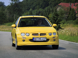 Photos of MG ZR 160 3-door EU-spec 2001–04