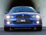 Photos of MG ZR TD 115 5-door 2001–04