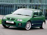 Photos of MG ZR 160 3-door 2004–05