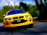Pictures of MG ZR 160 3-door 2001–04