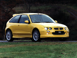 MG ZR 160 3-door EU-spec 2001–04 wallpapers