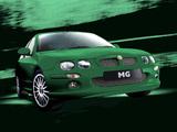 MG ZR 160 3-door 2001–04 wallpapers