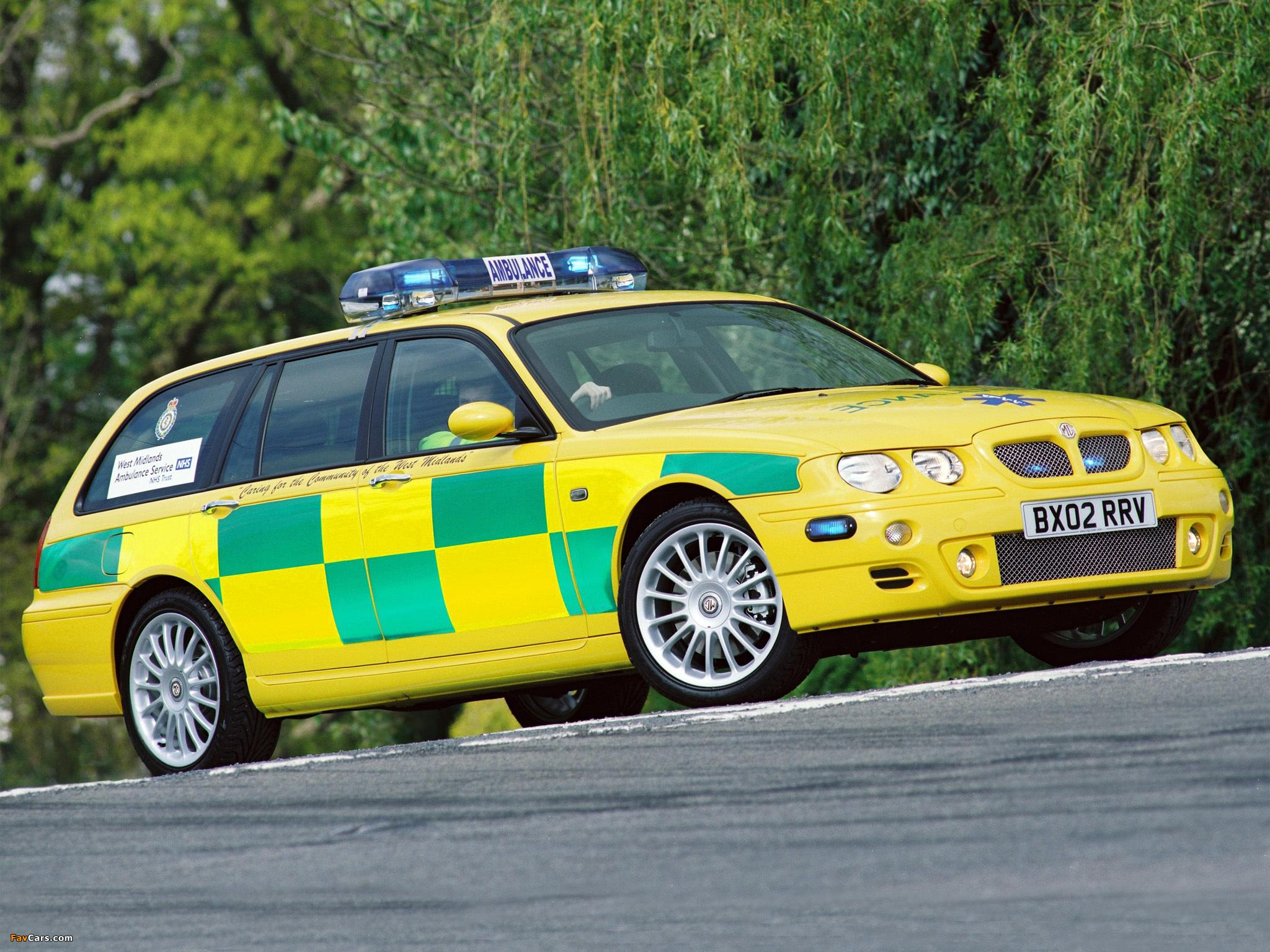 MG ZT-T Ambulance 2001–03 images (2048 x 1536)