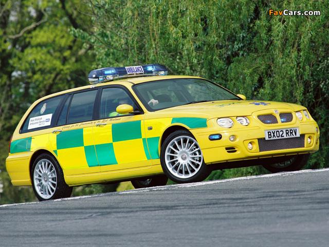 MG ZT-T Ambulance 2001–03 images (640 x 480)