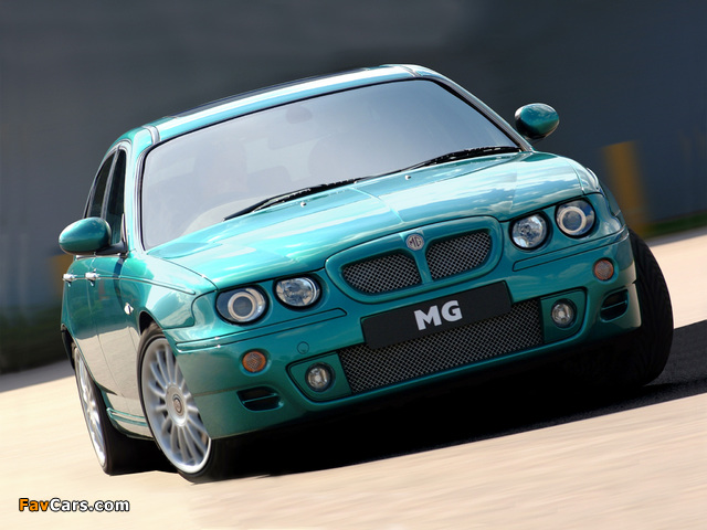 MG ZT 160 2001–03 pictures (640 x 480)