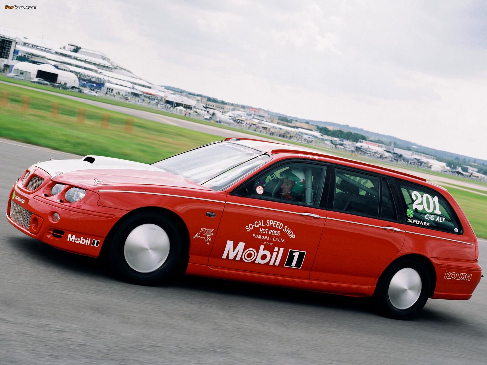 MG ZT-T V8 Bonneville Speed Week Record Car 2003 wallpapers (1600 x 1200)