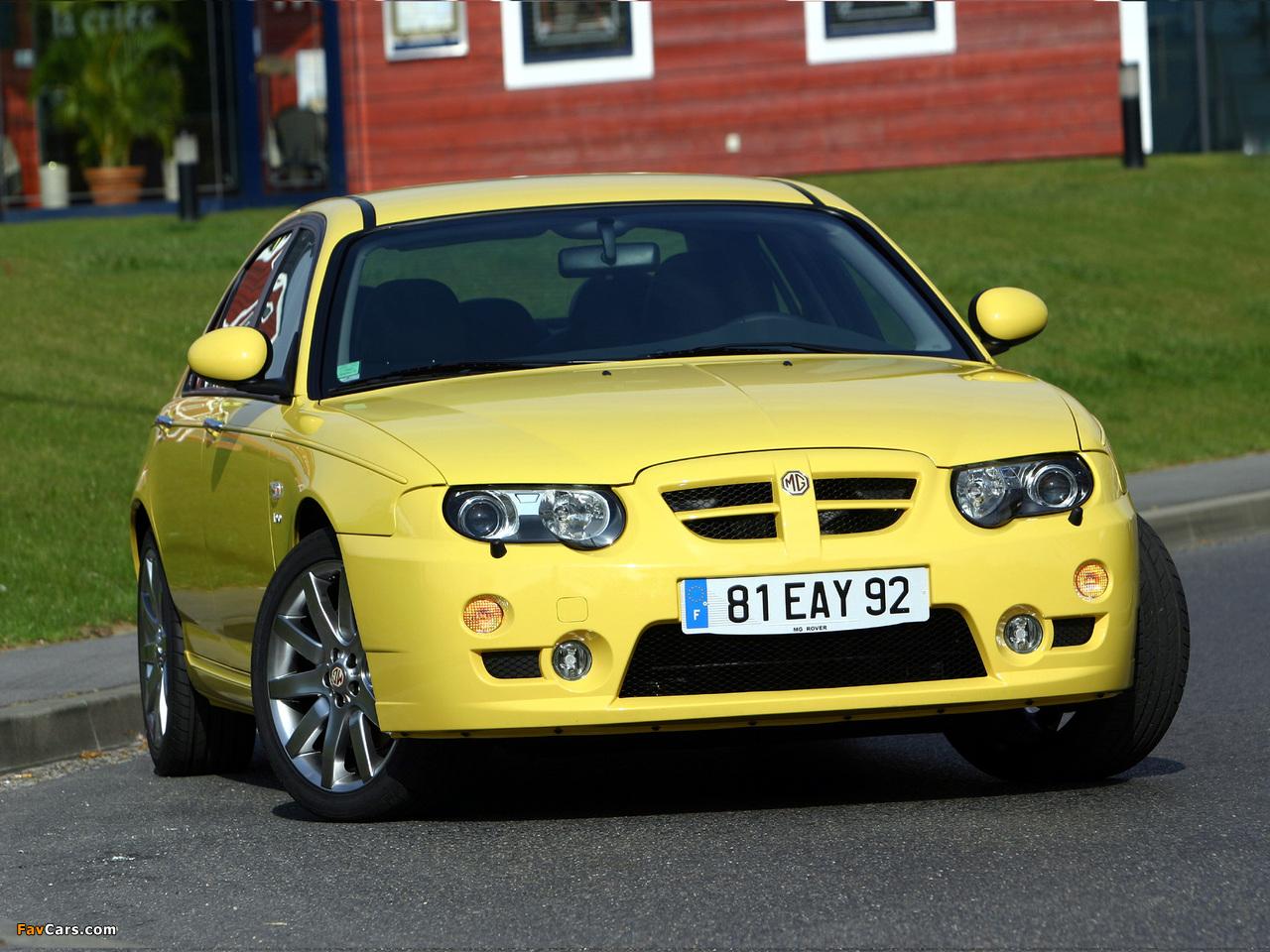MG ZT 190 EU-spec 2004–05 images (1280 x 960)