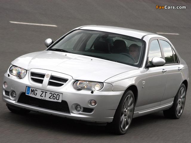 MG ZT 260 EU-spec 2004–05 photos (640 x 480)