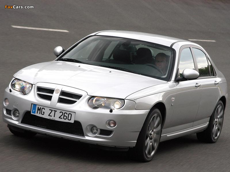 MG ZT 260 EU-spec 2004–05 photos (800 x 600)