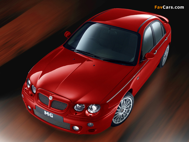 Photos of MG X10 Concept 2000 (640 x 480)