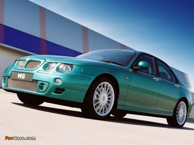 Photos of MG ZT 160 2001–03 (640 x 480)
