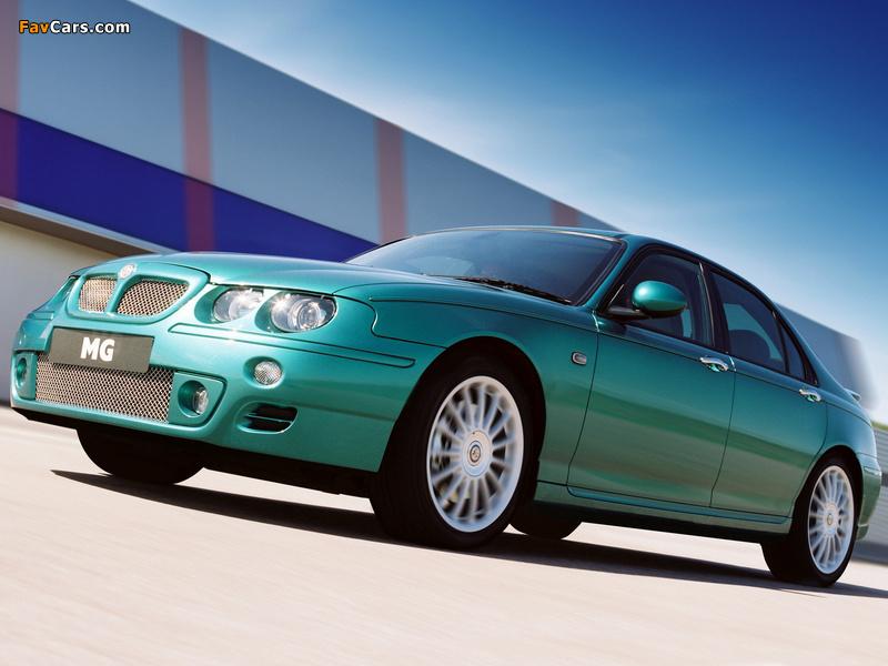 Photos of MG ZT 160 2001–03 (800 x 600)