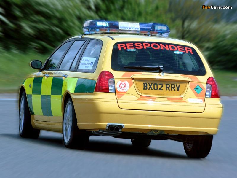 Photos of MG ZT-T Ambulance 2001–03 (800 x 600)