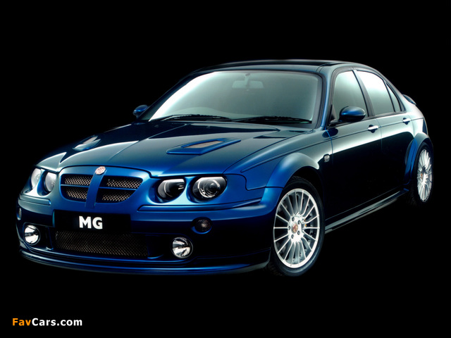 Pictures of MG ZT XPower 385 2001 (640 x 480)