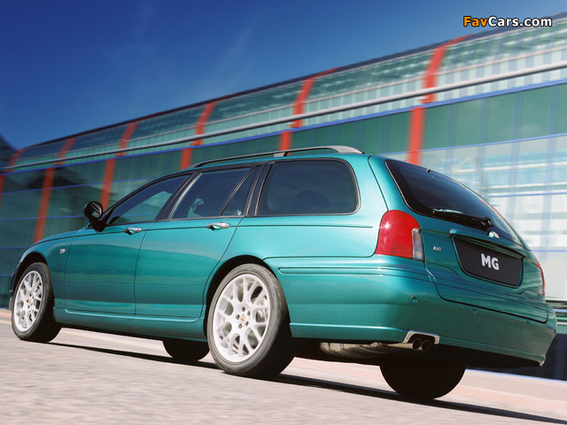 Pictures of MG ZT-T 160 2001–03 (640 x 480)