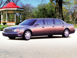 Cadillac DeVille Presidential Limousine by Miller-Meteor 2000–05 wallpapers