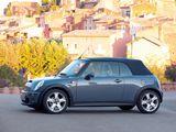 Mini Cooper S Cabrio (R52) 2004–08 pictures