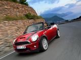 Mini John Cooper Works Cabrio (R57) 2009–10 pictures
