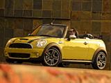Mini Cooper S Cabrio US-spec (R57) 2009–10 wallpapers