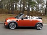 Mini Cooper D Cabrio UK-spec (R57) 2010 photos
