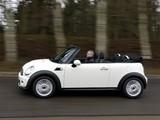 Mini One Cabrio UK-spec (R57) 2010 photos