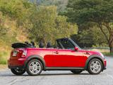 Mini Cooper Cabrio US-spec (R57) 2010 photos