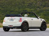Mini Cooper Cabrio US-spec (R57) 2010 pictures
