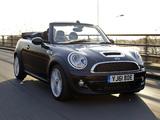 Mini Cooper S Cabrio Highgate UK-spec (R57) 2012 photos