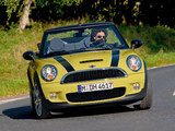 Photos of Mini Cooper S Cabrio (R57) 2009–10