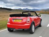 Photos of Mini One Cabrio UK-spec (R57) 2009–10