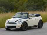 Photos of Mini Cooper Cabrio US-spec (R57) 2010