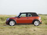 Photos of Mini Cooper SD Cabrio UK-spec (R57) 2011