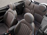 Photos of Mini Cooper S Cabrio Highgate UK-spec (R57) 2012