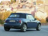Pictures of Mini Cooper S Cabrio (R52) 2004–08