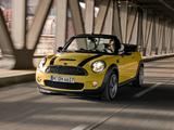 Pictures of Mini Cooper S Cabrio (R57) 2009–10