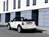 Pictures of Mini One Cabrio (R57) 2009–10